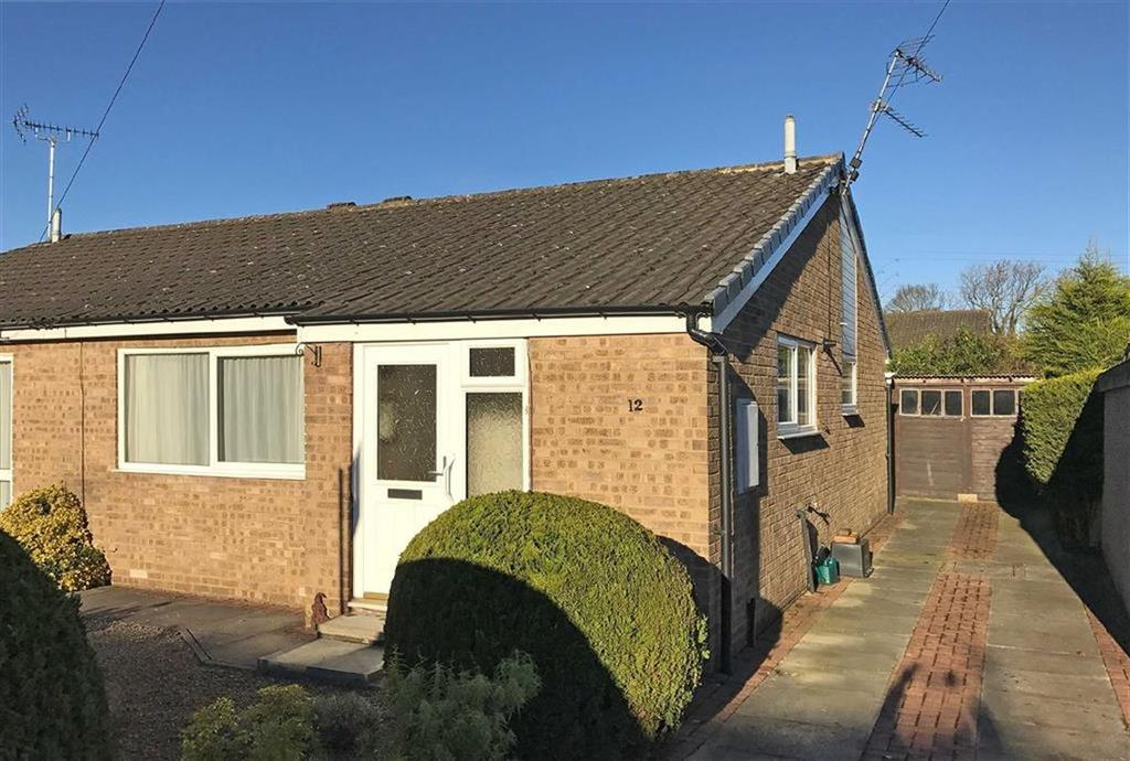 2 Bedrooms Semi Detached Bungalow for sale in Shelley Court, Harrogate, North Yorkshire