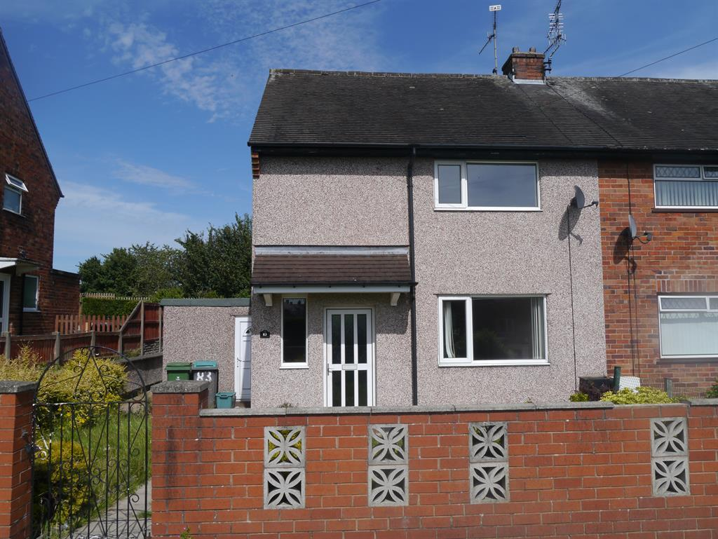 2 Bedrooms Semi Detached House for sale in Glanrafon, Rhosllanerchrugog, Wrexham , LL14 2DP
