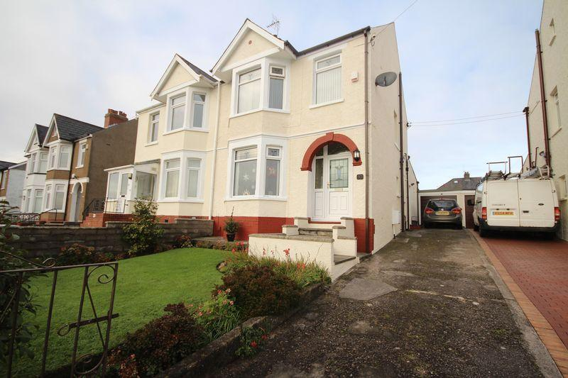 3 Bedrooms Semi Detached House for sale in Uplands Road, Rumney