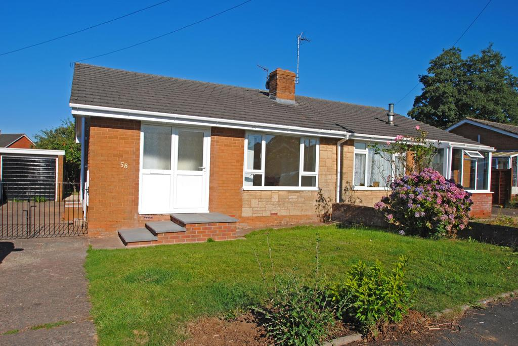 2 Bedrooms Bungalow for sale in Castle Park, Hemyock