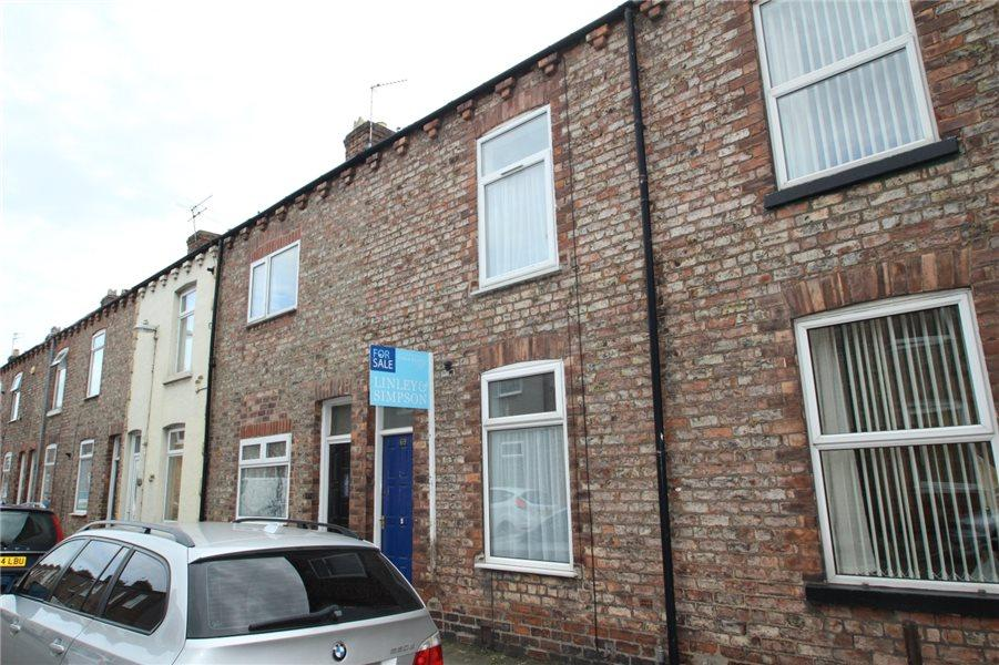 2 Bedrooms Terraced House for sale in GLADSTONE STREET, ACOMB, YORK, YO24 4NQ