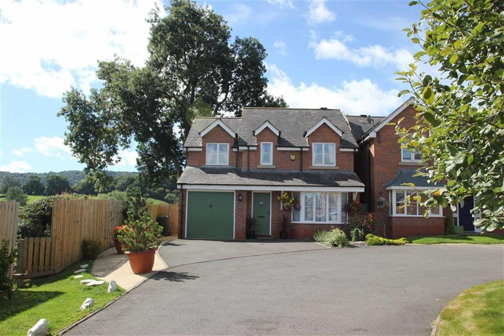 4 Bedrooms Detached House for sale in Sycamore Close, Craven Arms, Shropshire