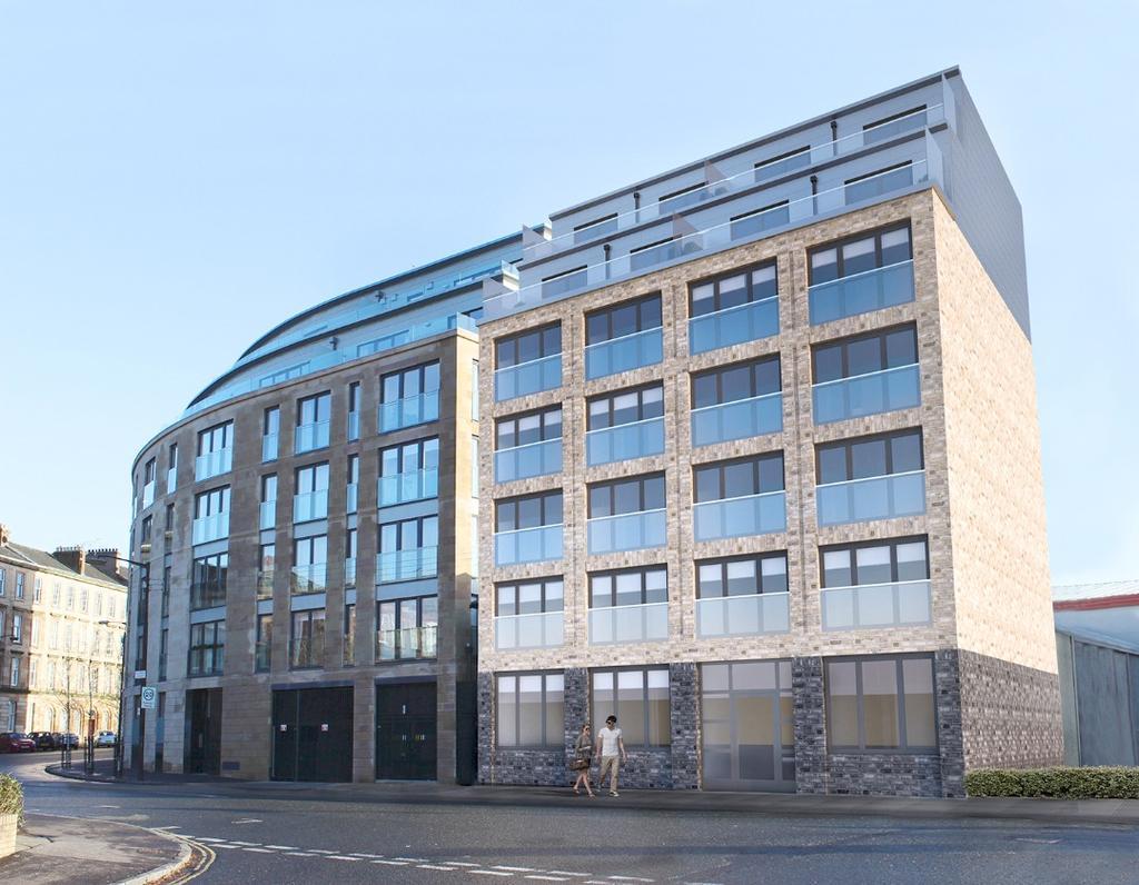 2 Bedrooms Flat for sale in Minerva Apartments, 69 Minerva Street, Finnieston, Glasgow, G3 8LE