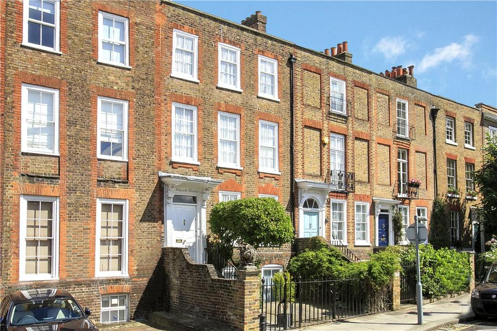 5 Bedrooms Terraced House for sale in Church Terrace, Richmond, TW10