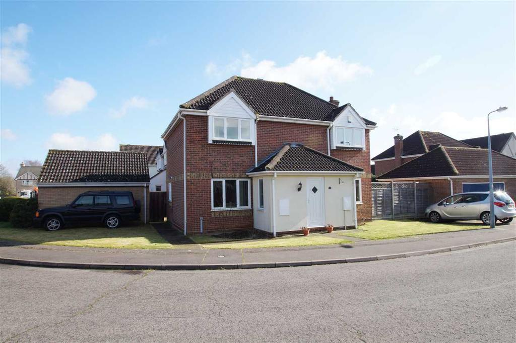 4 Bedrooms Detached House for sale in Jefferson Close, Lexden, Colchester