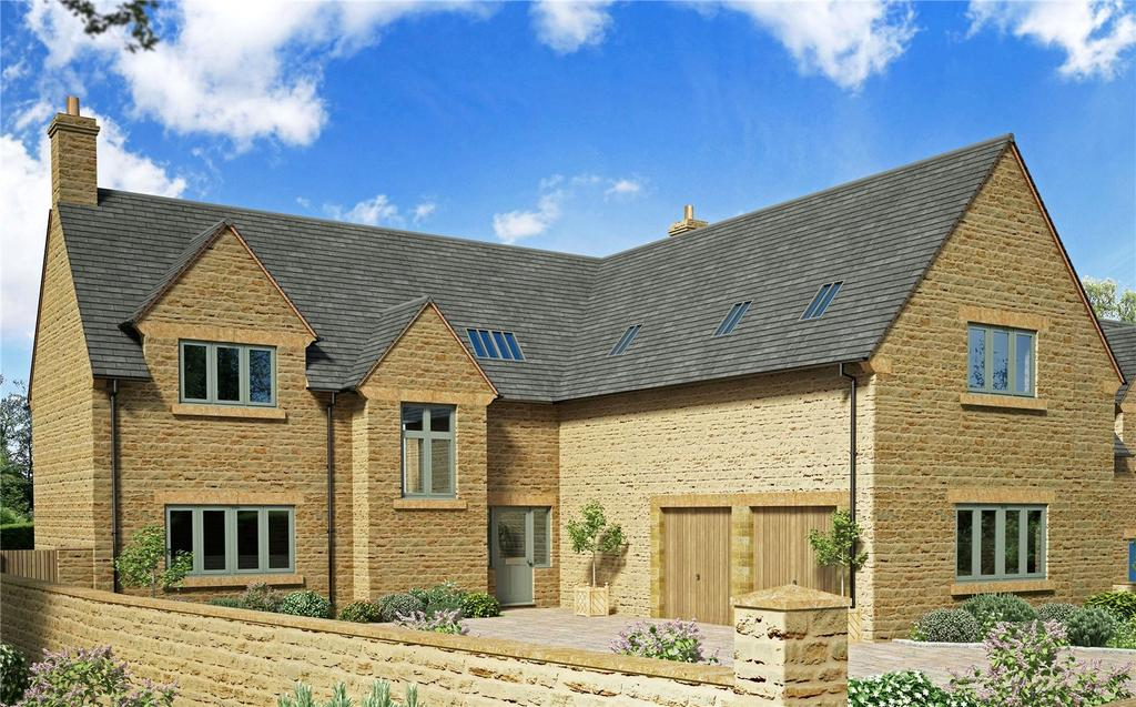 5 Bedrooms Detached House for sale in Plot 1 Main Street, Little Brington, Northamptonshire, NN7