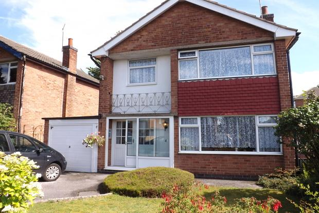 3 Bedrooms Detached House for sale in Crowthorne Gardens, Rise Park, Nottingham, NG5