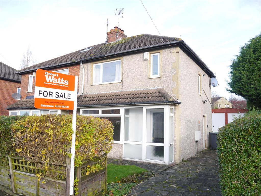 3 Bedrooms Semi Detached House for sale in Hurstville Avenue, East Bierley, BD4 6PX