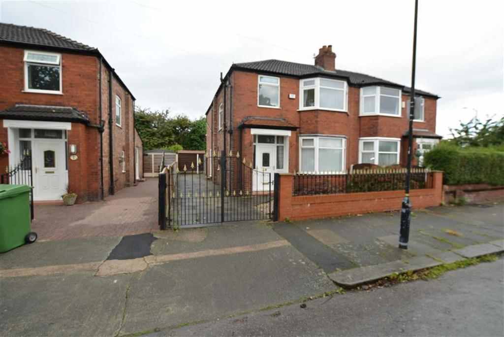 3 Bedrooms Semi Detached House for sale in Barkway Road, STRETFORD