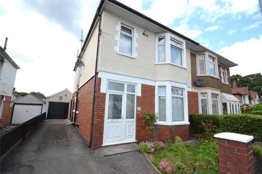4 Bedrooms Semi Detached House for sale in Newport Road, Rumney, Cardiff, CF3