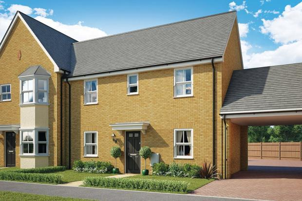3 Bedrooms Semi Detached House for sale in St Walstans, Costessey, Norwich, Norfolk