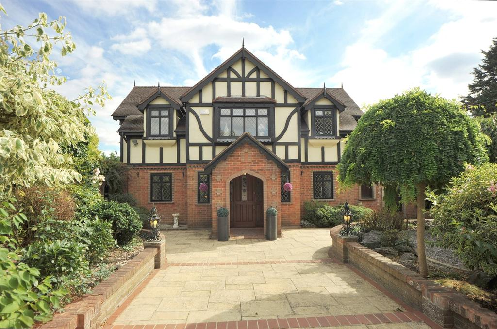 4 Bedrooms Detached House for sale in Magpie Lane, Little Warley, Brentwood, Essex, CM13