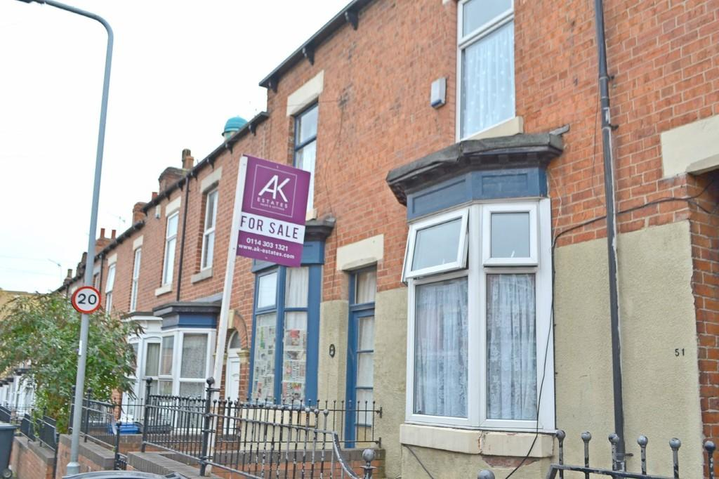 3 Bedrooms Terraced House for sale in Glover Road , Sheffield