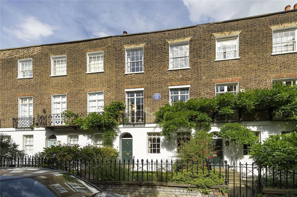 4 Bedrooms Terraced House for sale in Edwardes Square, Kensington, London, W8