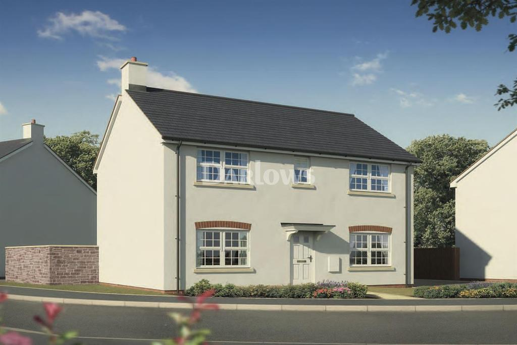4 Bedrooms Detached House for sale in Plot 80 The Newgale, The Alders