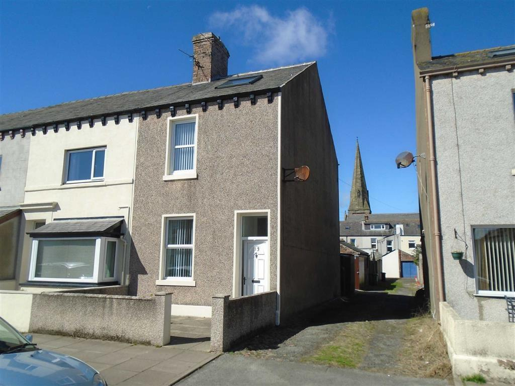 4 Bedrooms End Of Terrace House for sale in Solway Street, Silloth, Cumbria