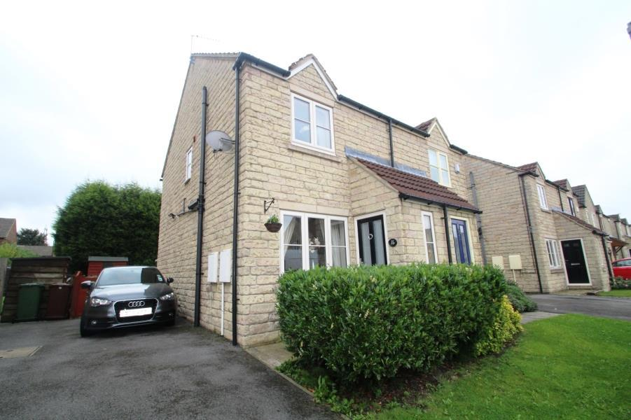 2 Bedrooms Semi Detached House for sale in BEVERLEY CLOSE, NORMANTON, WF6 1BU