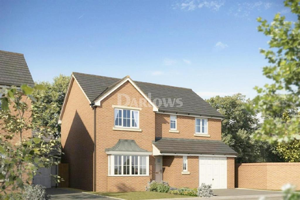 4 Bedrooms Detached House for sale in Plot 38 The Warwick, The Alders