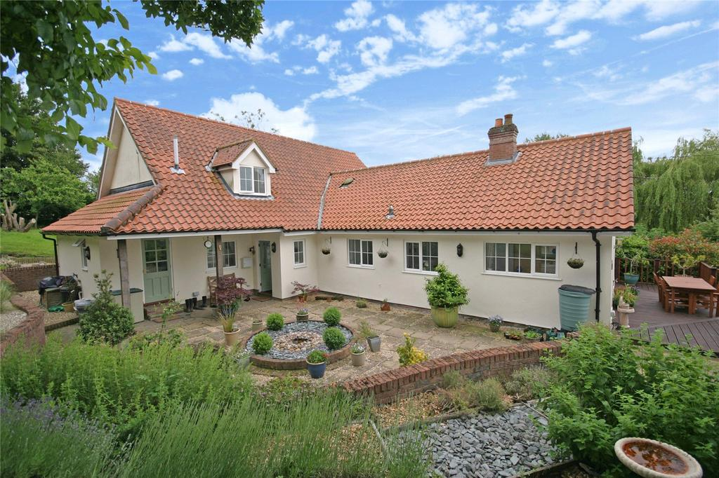4 Bedrooms Detached House for sale in Front Street, Ousden, Newmarket, Suffolk, CB8