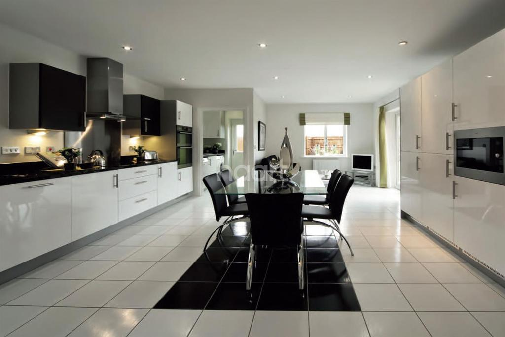 4 Bedrooms Detached House for sale in Plot 44 The Warwick, The Alders