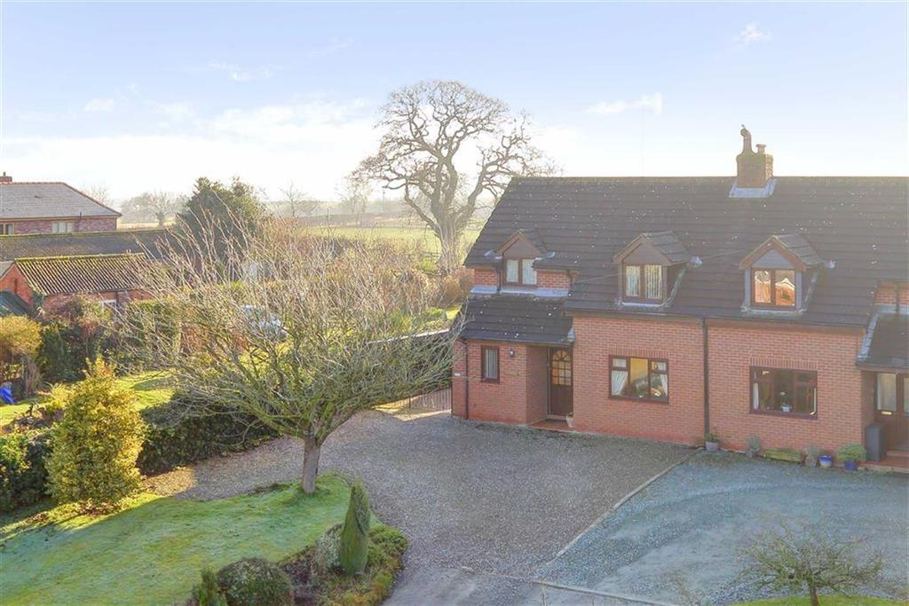 3 Bedrooms Semi Detached House for sale in Tetchill, Nr Ellesmere, SY12