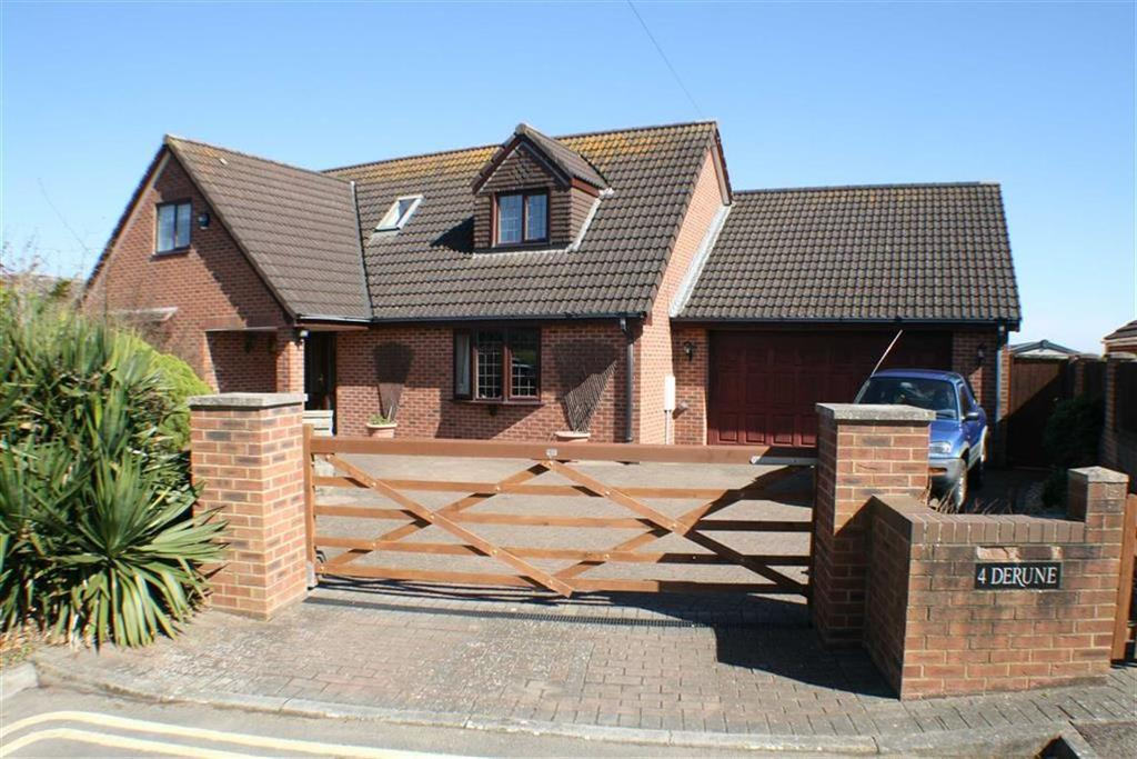 4 Bedrooms Detached House for sale in Shrubbery Close, Coast Road, Berrow, Burnham-On-Sea