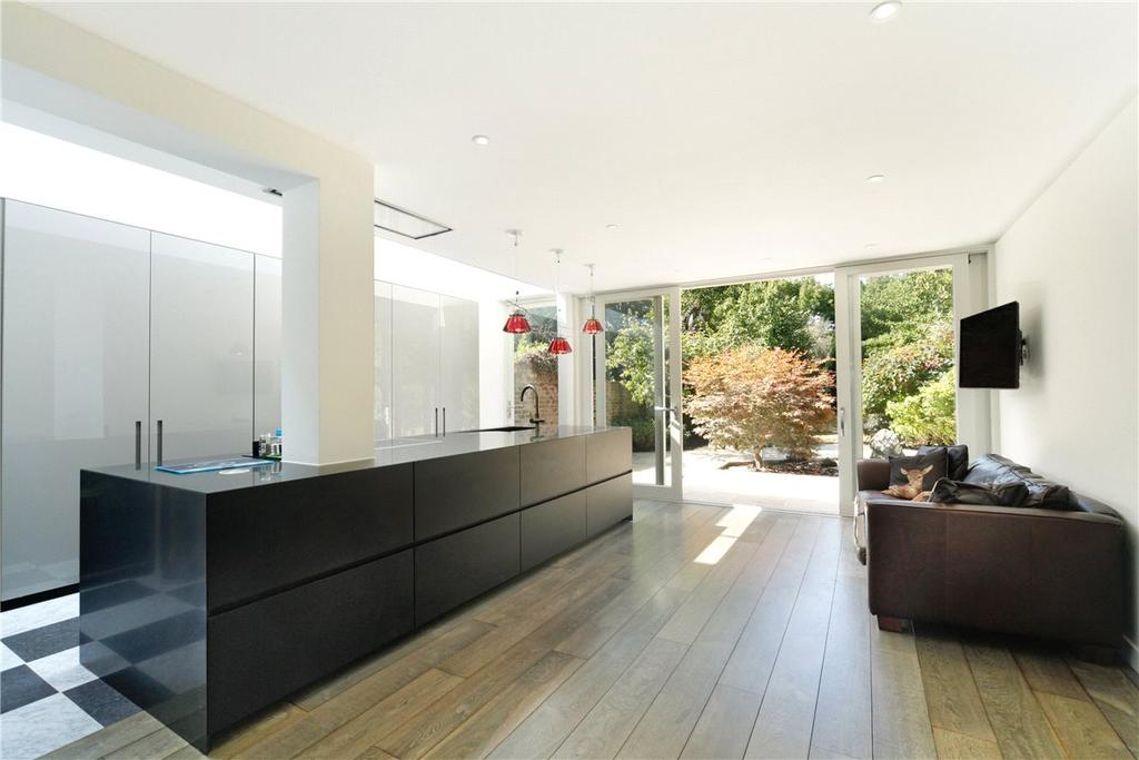 5 Bedrooms Semi Detached House for sale in Castelnau, Barnes, London, SW13