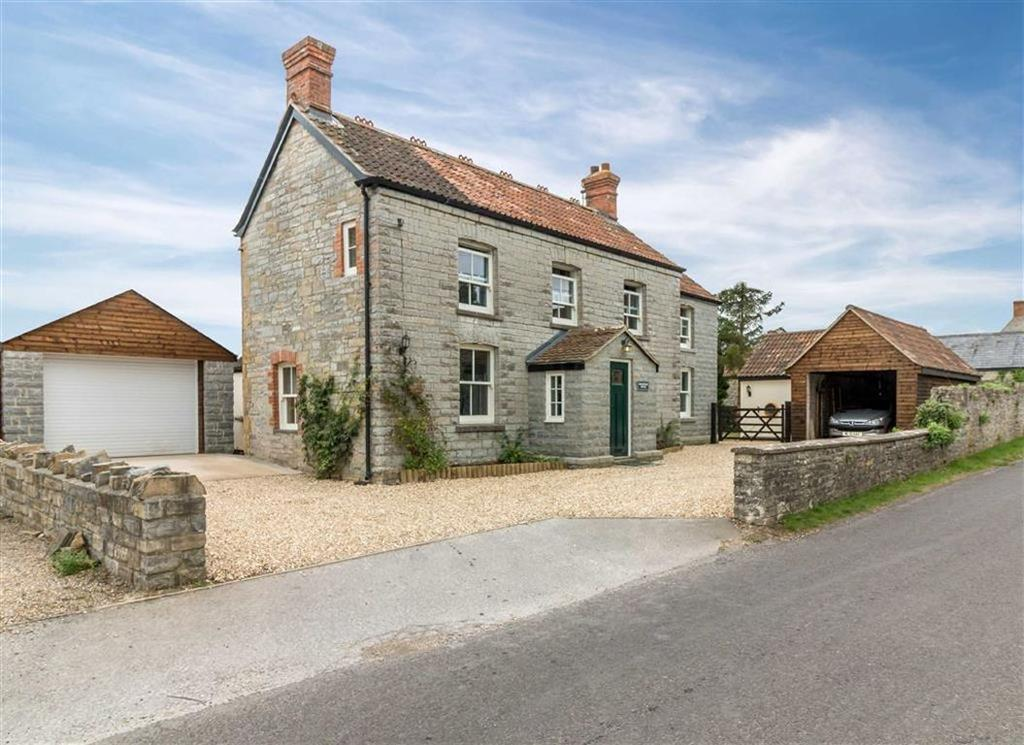 5 Bedrooms Detached House for sale in Wearne, Somerset, TA10