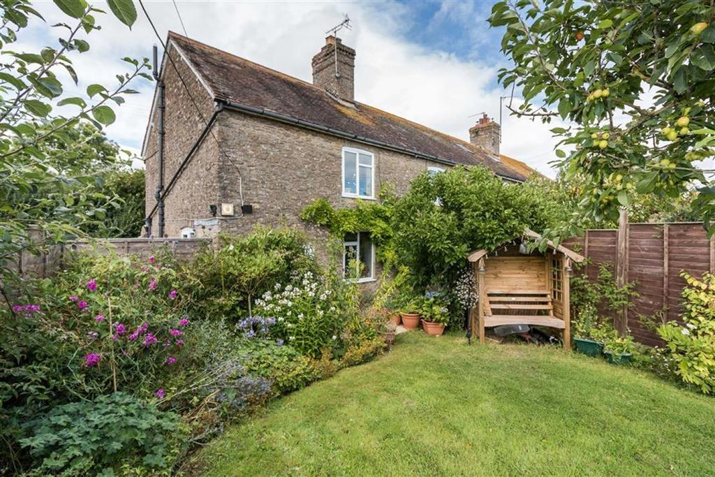 4 Bedrooms Semi Detached House for sale in Lattiford Cottages, Holton, Somerset, BA9