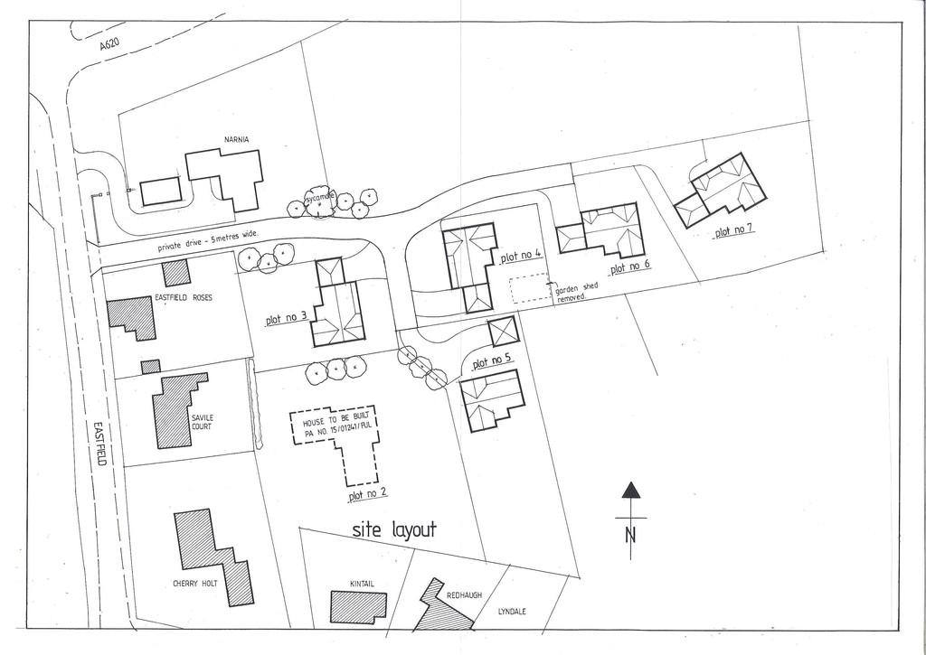 Land Commercial for sale in BUILDING PLOT- PLOT 3, North Wheatley, Nottinghamshire