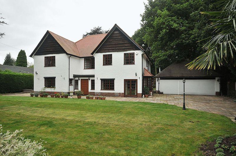 5 Bedrooms Detached House for sale in Clamhunger Lane, Mere