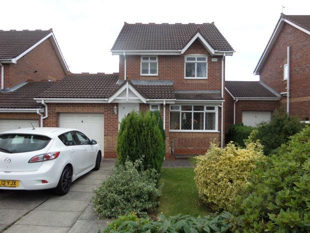 3 Bedrooms Detached House for sale in PELHAM COURT, COXHOE, DURHAM CITY : VILLAGES EAST OF
