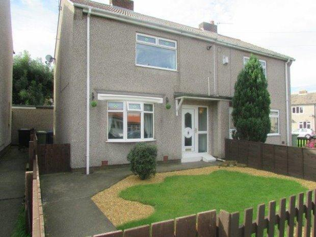 2 Bedrooms Semi Detached House for sale in WHARRIER SQUARE, WHEATLEY HILL, PETERLEE AREA VILLAGES