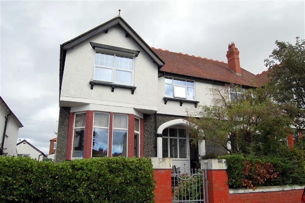 4 Bedrooms Semi Detached House for sale in Roumania Crescent, Craig Y Don, Llandudno, Conwy