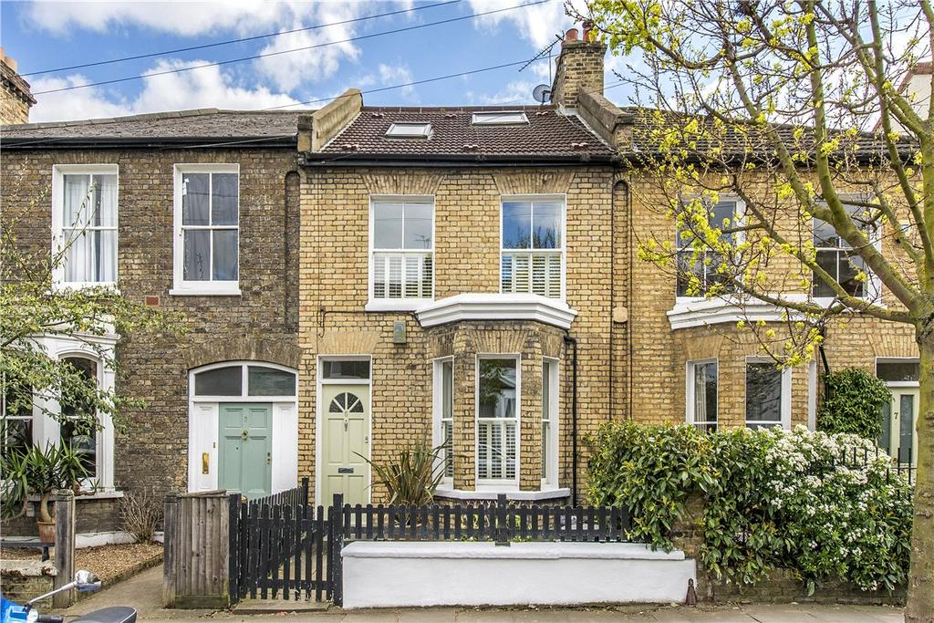 4 Bedrooms Terraced House for sale in Nottingham Road, London, SW17
