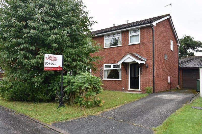 3 Bedrooms Semi Detached House for sale in Rowan Close, Winsford