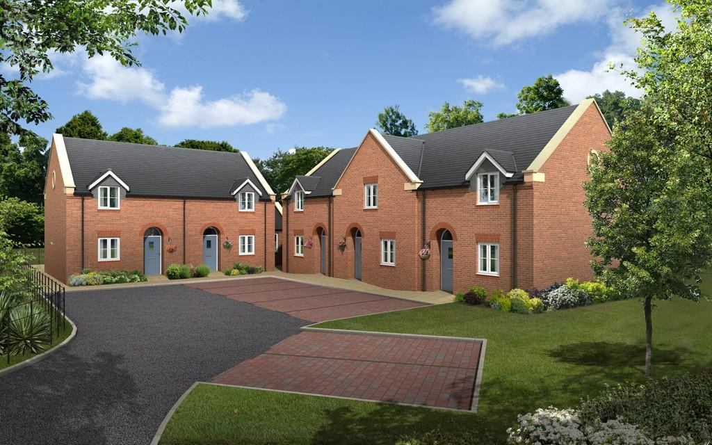 2 Bedrooms Semi Detached House for sale in Riversfield Drive, Rocester, Uttoxeter, ST14 5JU