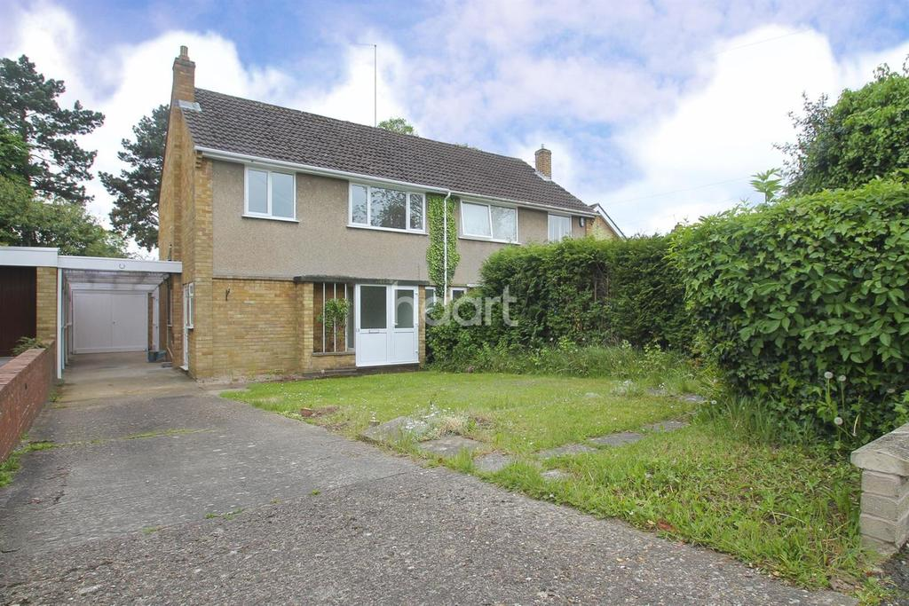 3 Bedrooms Semi Detached House for sale in Pine Trees, Weston Favell, Northampton