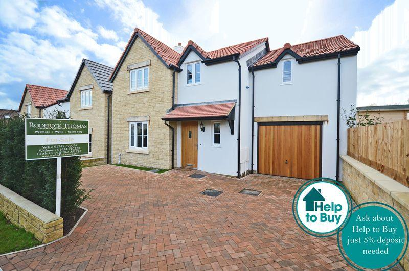 4 Bedrooms Detached House for sale in New Home within walking distance of Wedmore ONLY ONE REMAINING