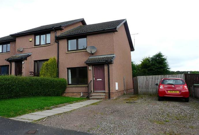 2 Bedrooms Semi Detached House for sale in 30 Sergeants Park, Newtown St Boswells, TD6 0QG