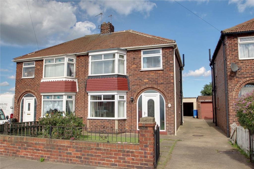 3 Bedrooms Semi Detached House for sale in York Road, Redcar