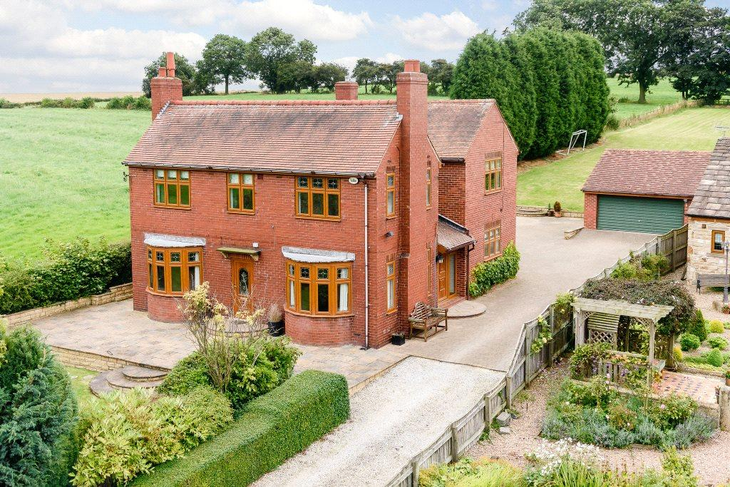 5 Bedrooms Detached House for sale in Brookside Farm, Thorpe Lane, Badsworth, Pontefract, WF9
