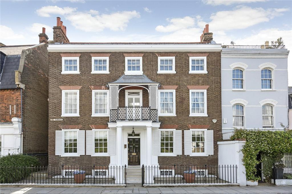 5 Bedrooms Semi Detached House for sale in The Terrace, Barnes, London, SW13