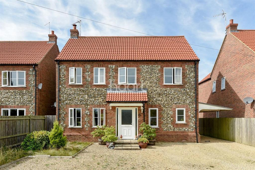 4 Bedrooms Detached House for sale in Barretts Lane, Feltwell