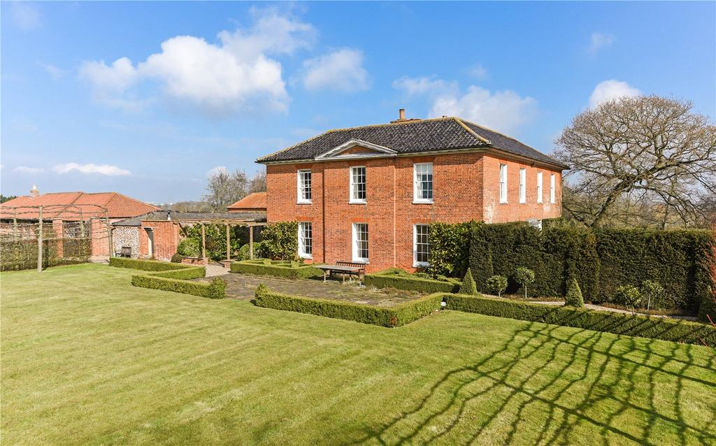 6 Bedrooms Detached House for sale in Henstead Old Rectory, Nr Beccles, Suffolk, NR34