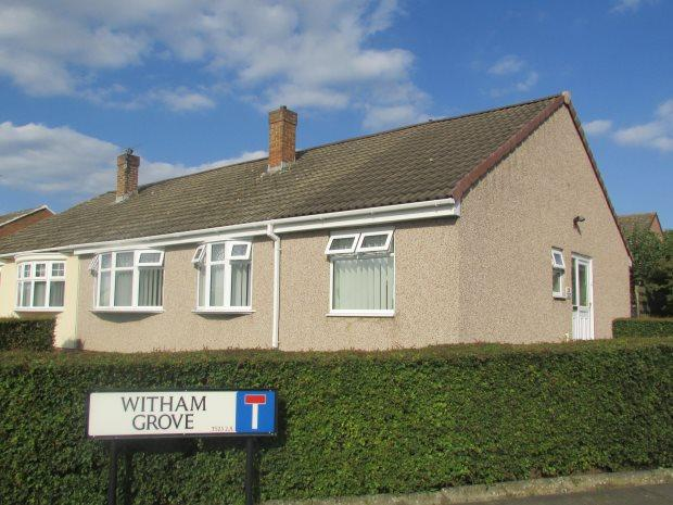 3 Bedrooms Semi Detached Bungalow for sale in WITHAM GROVE, FENS, HARTLEPOOL