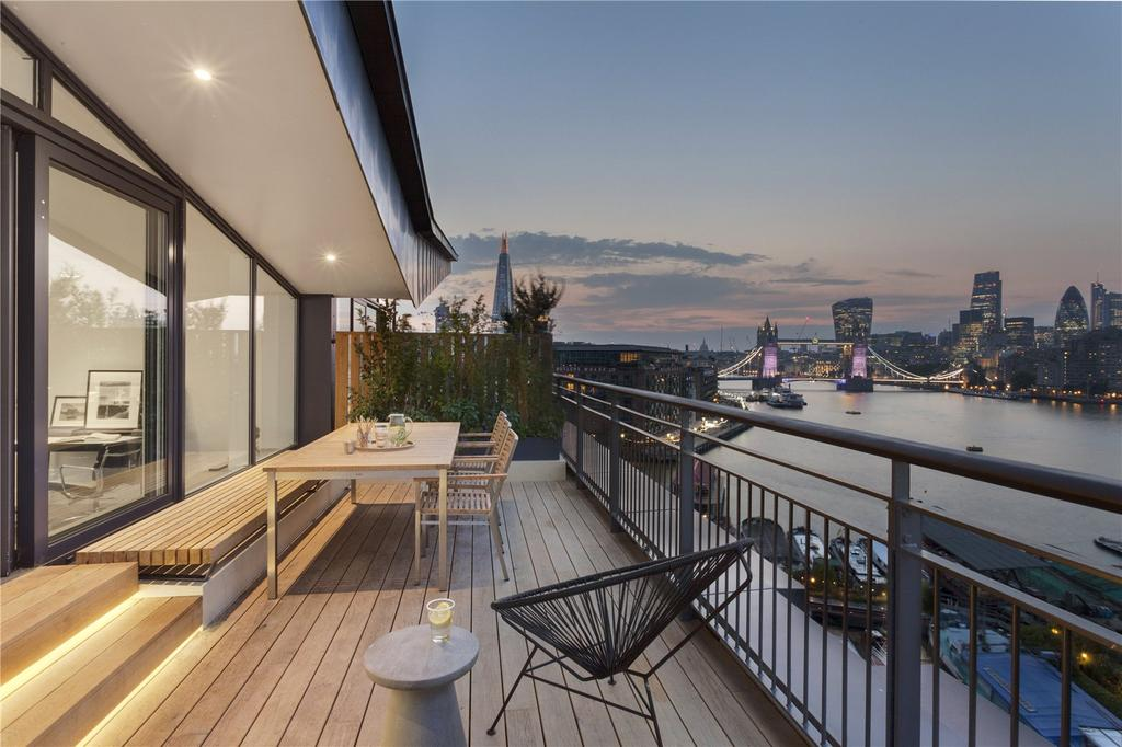 3 Bedrooms Penthouse Flat for sale in Providence Tower, Bermondsey Wall West, London, SE1