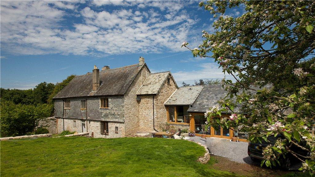 3 Bedrooms Barn Conversion Character Property for sale in Pridhamsleigh Manor, Ashburton, Devon