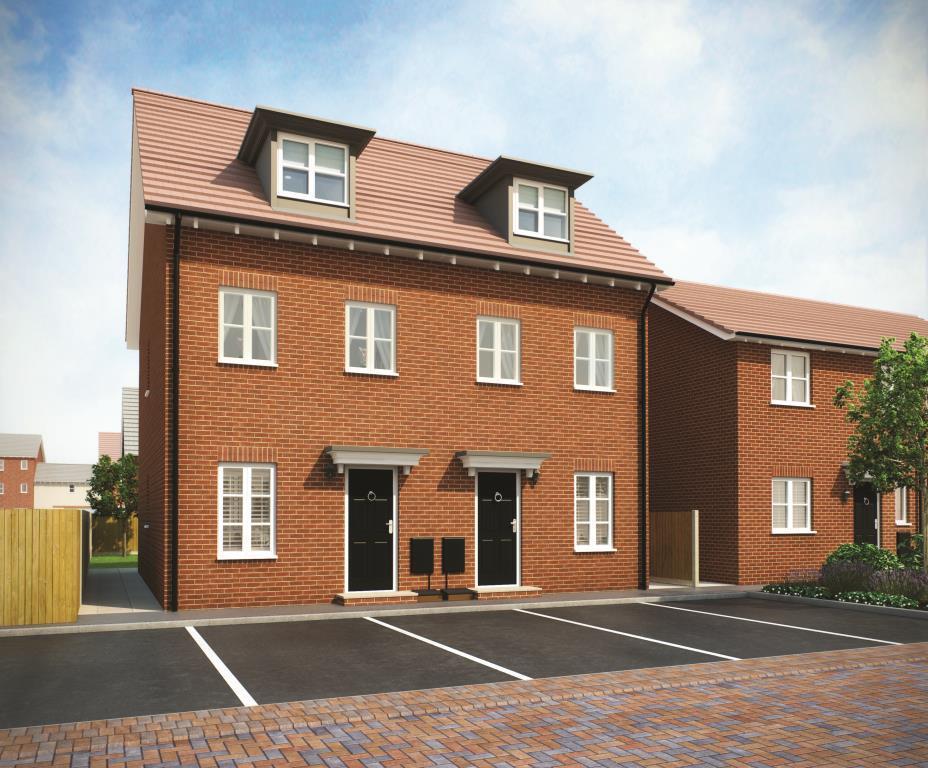 3 Bedrooms Terraced House for sale in THE MALHAM PHASE 3, Navigation Point, Cinder Lane, Castleford, West Yorkshire