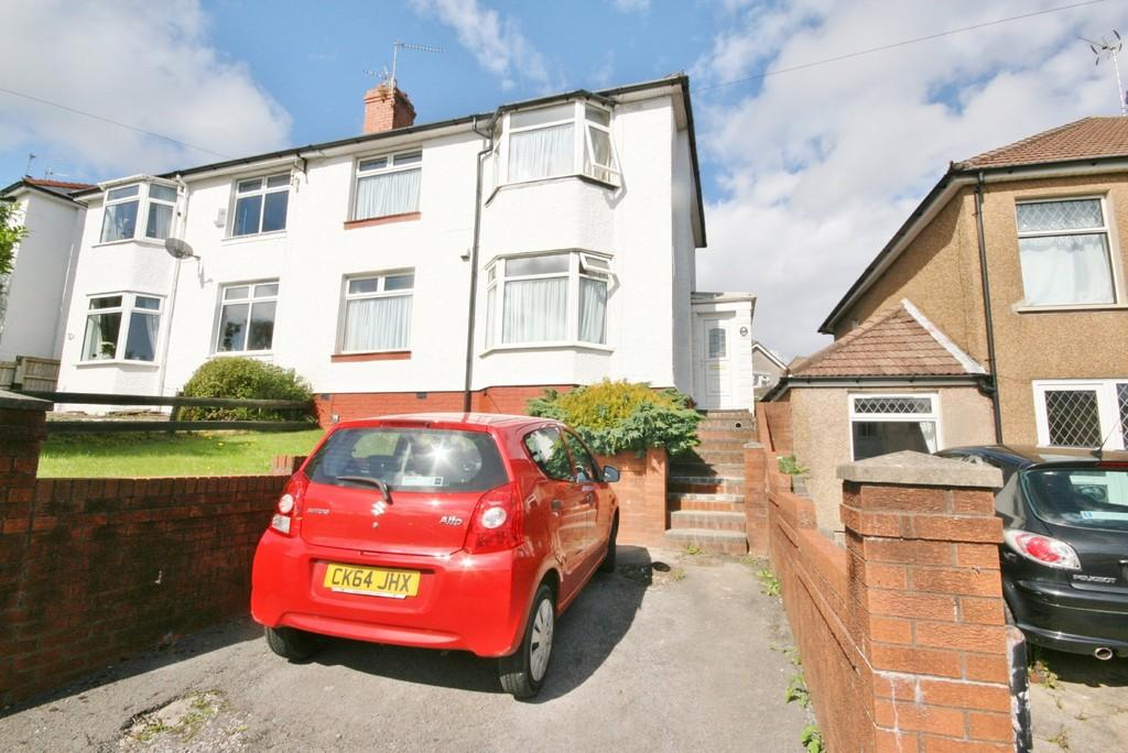 3 Bedrooms Semi Detached House for sale in Redlands Road, Penarth. Vale of Glamorgan. CF64 2WG